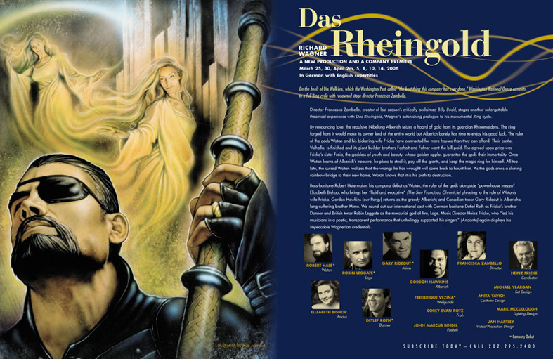 "Washington National Opera 50th Anniversary ""Das Rheingold"""